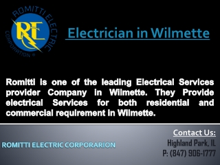 Electrician in Wilmette