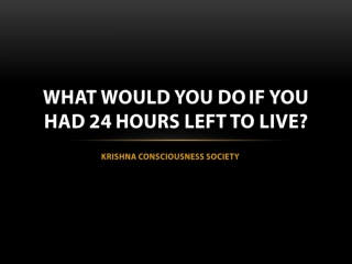 24 Hours To Live - KC Soc