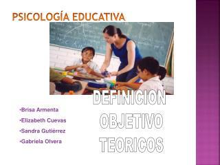 Psicolog a educativa