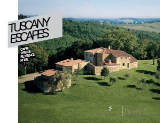 Exclusive Resorts - Tuscany Escapes