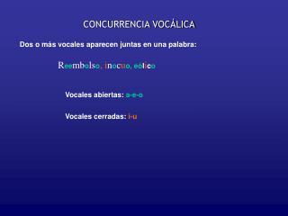 CONCURRENCIA VOC LICA