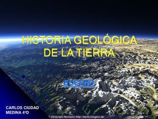 HISTORIA GEOL GICA DE LA TIERRA
