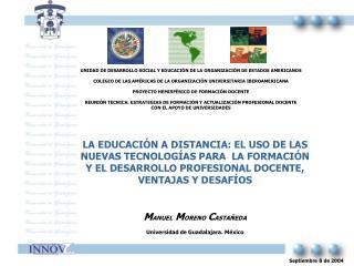 LA EDUCACI N A DISTANCIA: EL USO DE LAS NUEVAS TECNOLOG AS PARA  LA FORMACI N Y EL DESARROLLO PROFESIONAL DOCENTE, VENTA