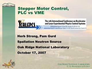 Stepper Motor Control,  PLC vs VME