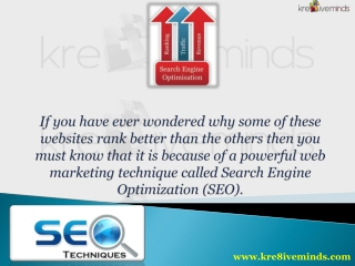 The Best SEO Services in India