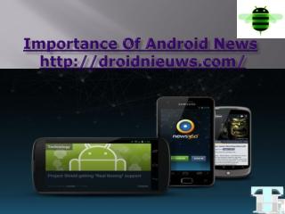 android developer (android ontwikkelaar)