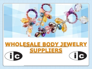 Wholesale Body Jewelry Suppliers