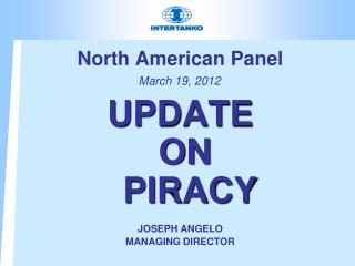 North American Panel  March 19, 2012
