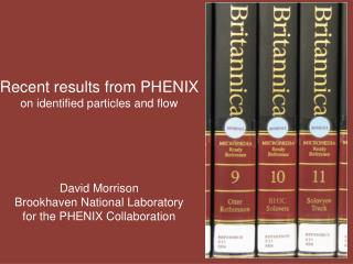 Recent results from PHENIX on identified particles and flow