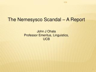 The Nemesysco Scandal   A Report