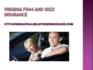 the virginia fr44 insurance