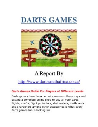 Darts Games