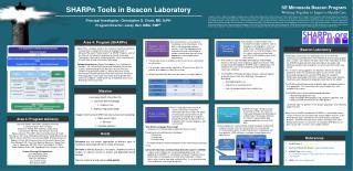 SHARPn Tools in Beacon Laboratory