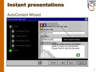Powerful presentations with PowerPoint