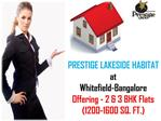 Find Out Booking Info/Procedure of Prestige Lakeside Habitat