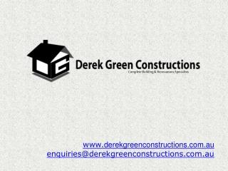 Derek Green Constructions in Australia