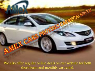 Making Car Rental Dubai Easy!
