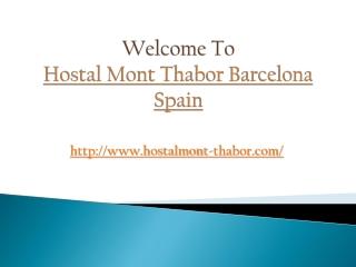 Hostal Near Ramblas Barcelona
