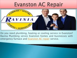 Evanston AC Repair