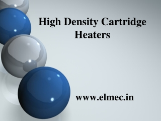 High density cartridge heaters