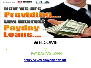 Payday Loan No Credit Checks