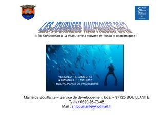LES JOURNEES NAUTIQUES 2012