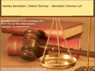 Hartley Bernstein | Debra Cherney