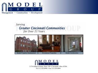 2170 Gilbert Avenue, Suite 100   Cincinnati, Ohio 45206 Tel 513.559.0048   Fax 513.559.0840