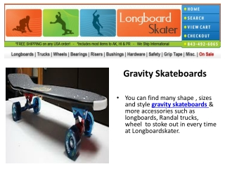 Gravity Skateboards