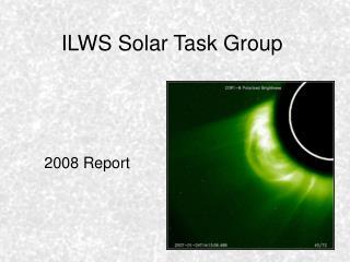 ILWS Solar Task Group