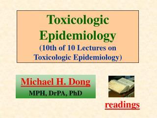 Michael H. Dong MPH, DrPA, PhD
