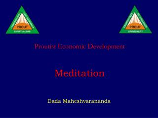 Proutist Economic Development    Meditation