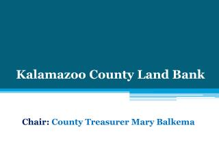 Kalamazoo County Land Bank