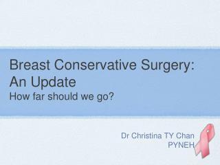 Dr Christina TY ChanPYNEH