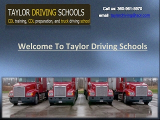 Learn effective CDL driving skills with expert driver