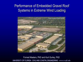Performance of Embedded Gravel Roof Systems in Extreme Wind Loading