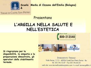 Scuola  Media di Ozzano dell'Emilia (Bologna)