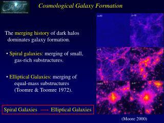 Spiral Galaxies          Elliptical Galaxies