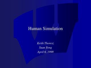 Human Simulation