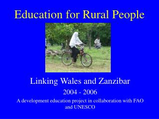 Education for Rural People