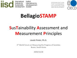 BellagioSTAMP  SusTainability Assessment and Measurement Principles