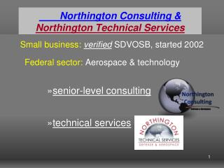 Northington Consulting   Northington Technical Services