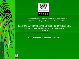 CELADE-División de Población de la CEPAL