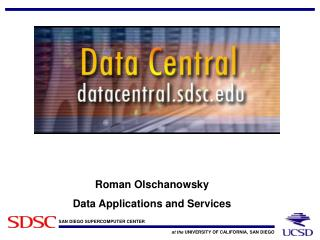 Why SDSC Data Central