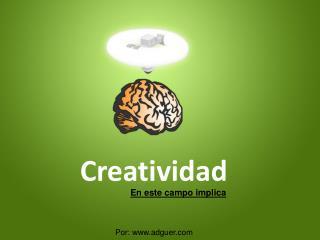 creatividad en diseño web, grafico y servicios web