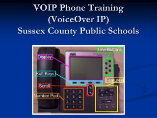 VOIP Phone Training VoiceOver IP Sussex County Public Schools