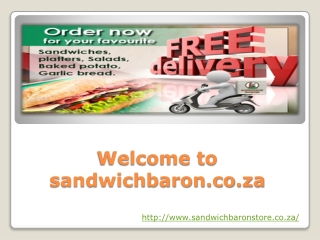 Platter- sandwichbaron