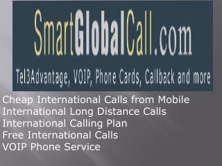 Cheap International Calling using VOIP Phone Service