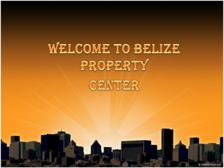 Belize Property For sale