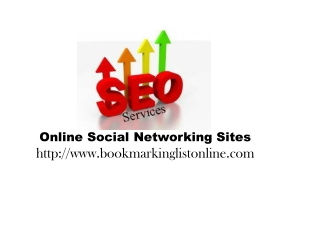 Free Bookmarking Sites List